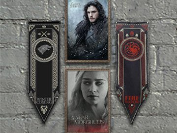 AllPosters 30% Rabatt Gutschein für Game Of Thrones Posters