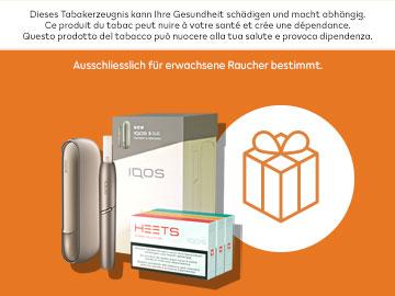 IQOS 3 DUO: gratis testen und CHF 30.– Gutschein erhalten