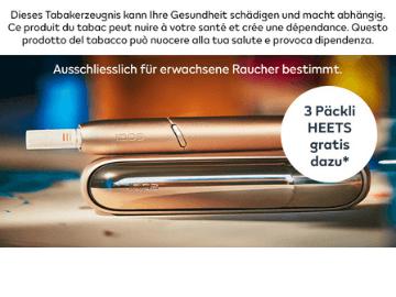 IQOS Aktion: Jetzt 15 Tage gratis testen und nie mehr nach Zigaretten riechen
