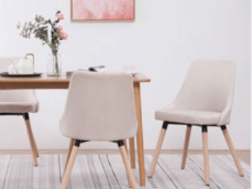 vidaXL Gutscheincode: CHF 22.- Rabatt auf Küchen und Esszimmerstühle